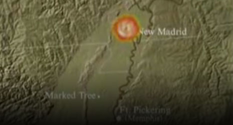 New Madrid Earthquake Zone