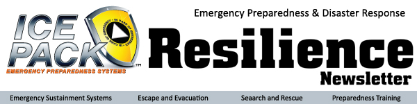 ICE PACK Resilience Newsletter header